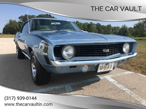 1969 Chevrolet Camaro for sale at The Car Vault in Brownsburg IN