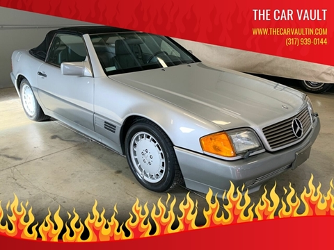 1990 Mercedes-Benz 300-Class 300 SL for sale at The Car Vault in Brownsburg IN