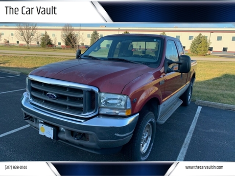 2002 Ford F-250 Super Duty XL for sale at The Car Vault in Brownsburg IN