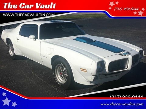 1970 Pontiac Firebird Trans Am for sale at The Car Vault in Brownsburg IN