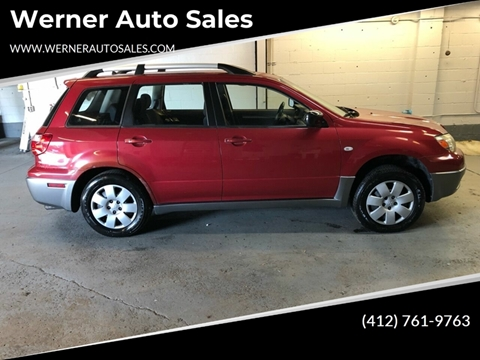 2005 Mitsubishi Outlander for sale in Pittsburgh, PA