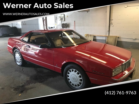 1993 Cadillac Allante for sale in Pittsburgh, PA
