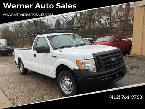 2010 Ford F-150 STX for sale at Werner Auto Sales in Pittsburgh PA