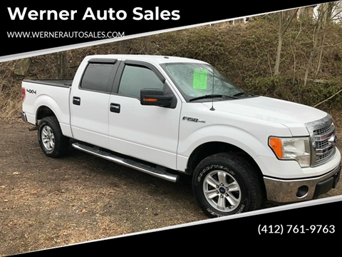 2014 Ford F-150 XLT for sale at Werner Auto Sales in Pittsburgh PA