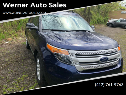 2011 Ford Explorer XLT for sale at Werner Auto Sales in Pittsburgh PA