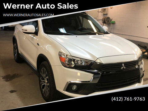 2016 Mitsubishi Outlander Sport 2.4 GT for sale at Werner Auto Sales in Pittsburgh PA