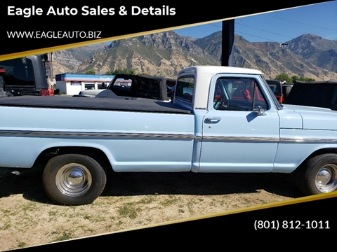 1968 Ford F-100 for sale in Provo, UT