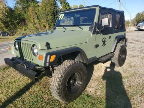 1997 Jeep Wrangler for sale at NextGen Motors Inc in Mt. Juliet TN