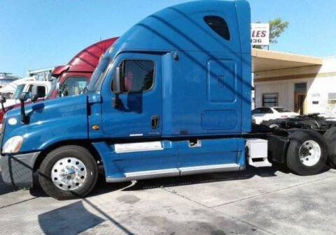 2010 Freightliner Cascadia for sale at Transportation Marketplace in West Palm Beach FL