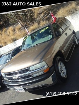 2004 Chevrolet Tahoe for sale in San Diego, CA