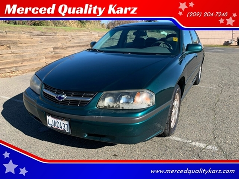 2000 Chevrolet Impala for sale in Merced, CA