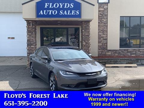 2016 Chrysler 200 for sale in Forest Lake, MN