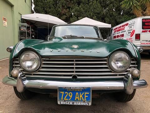 1966 Triumph TR4 for sale in La Habra, CA
