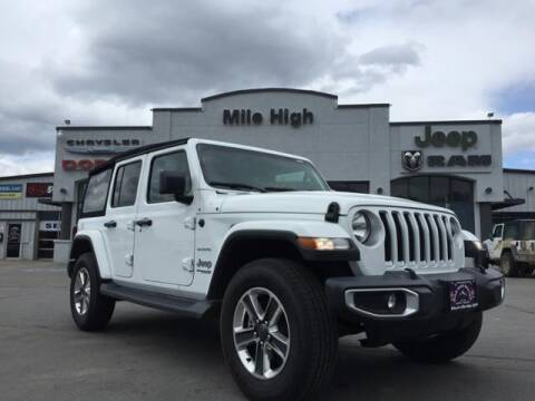 2018 Jeep Wrangler Unlimited Sahara for sale at Butte Dodge in Butte MT