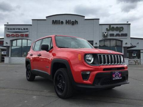2019 Jeep Renegade Sport for sale at Butte Dodge in Butte MT