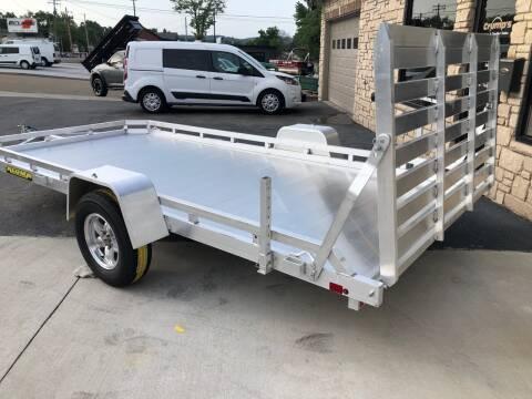 2021 Aluma 14' Aluminum Utility Trailer