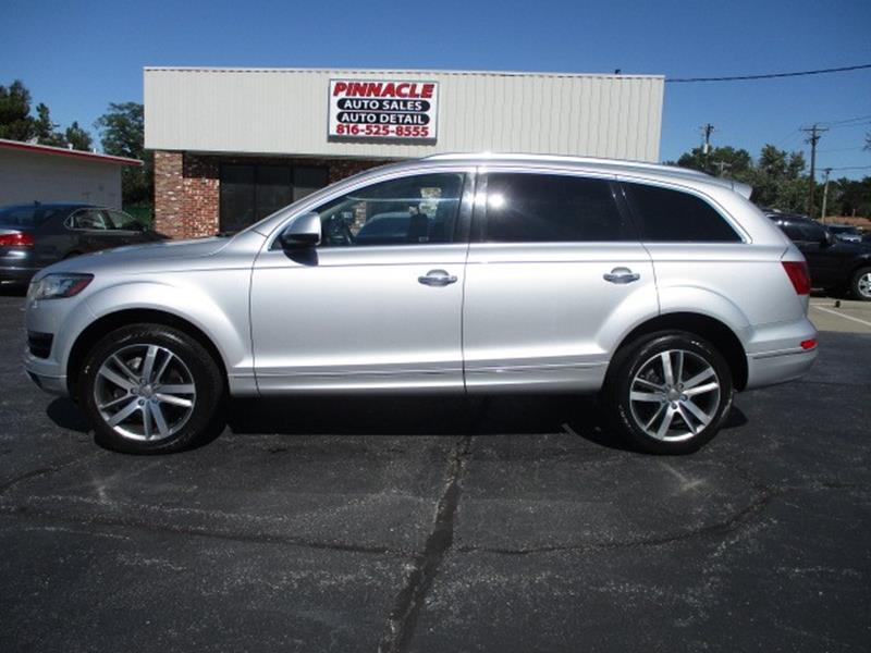 2012 Audi Q7 for sale at Pinnacle Investments LLC in Lees Summit MO