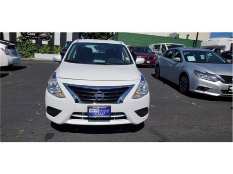 2018 Nissan Versa for sale at AutoDeals in Daly City CA