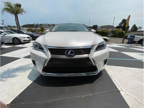 2017 Lexus CT 200h for sale at AutoDeals in Daly City CA