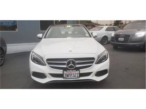 2017 Mercedes-Benz C-Class for sale at AutoDeals in Daly City CA