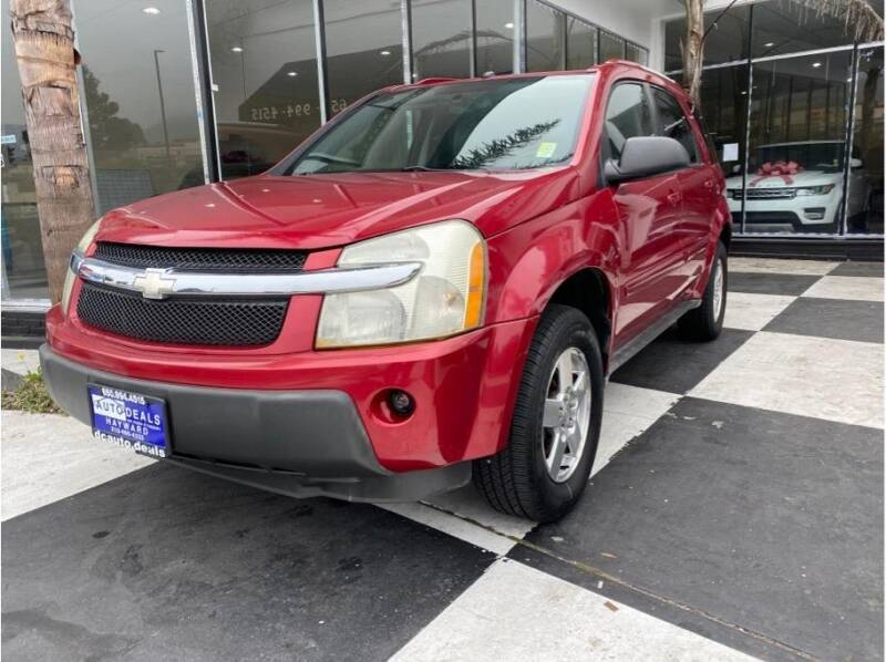 2005 Chevrolet Equinox for sale at AutoDeals in Daly City CA