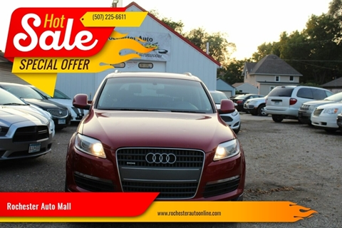 Car Dealerships In Rochester Mn >> Audi Q7 For Sale In Rochester Mn Rochester Auto Mall