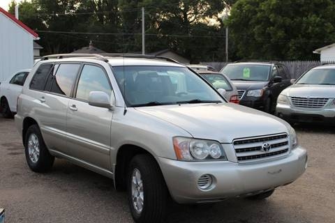 2003 Toyota Highlander for sale at Rochester Auto Mall in Rochester MN