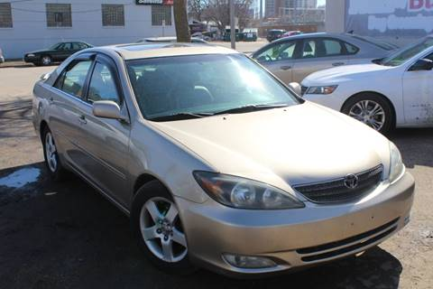 2002 Toyota Camry XLE V6 for sale at Rochester Auto Mall in Rochester MN
