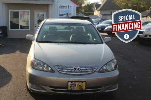 2002 Toyota Camry for sale at Rochester Auto Mall in Rochester MN