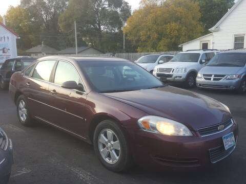 2007 Chevrolet Impala for sale at Rochester Auto Mall in Rochester MN