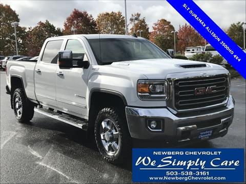 2017 GMC Sierra 3500HD for sale in Newberg, OR