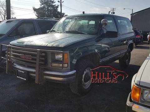 1995 GMC Yukon for sale in Westville, IL