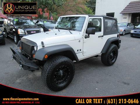 2007 Jeep Wrangler for sale in Huntington, NY