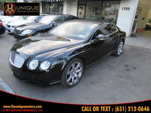 2007 Bentley Continental for sale in Huntington, NY