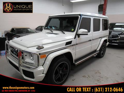 2013 Mercedes-Benz G-Class for sale in Huntington, NY
