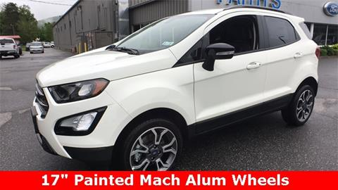 2019 Ford EcoSport for sale in Brattleboro, VT