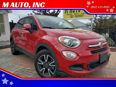 2016 FIAT 500X for sale at M AUTO, INC in Millcreek UT