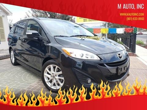 2015 Mazda MAZDA5 for sale at M AUTO, INC in Millcreek UT