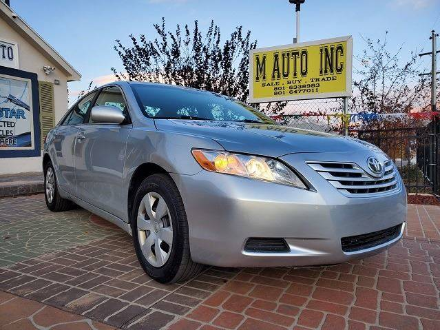 2007 Toyota Camry for sale at M AUTO, INC in Millcreek UT