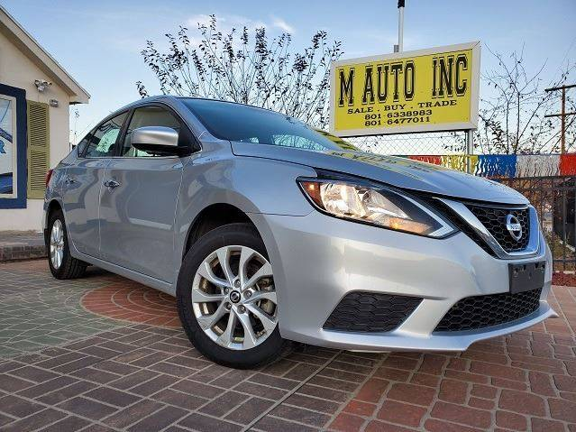 2016 Nissan Sentra for sale at M AUTO, INC in Millcreek UT