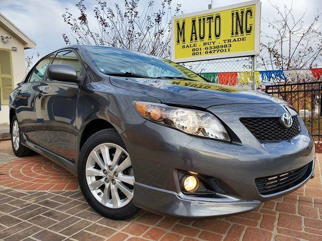 2010 Toyota Corolla for sale at M AUTO, INC in Millcreek UT