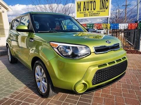 2015 Kia Soul for sale at M AUTO, INC in Millcreek UT