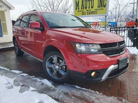 2015 Dodge Journey for sale at M AUTO, INC in Millcreek UT