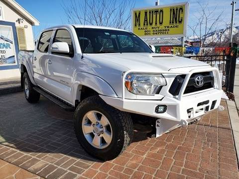 2012 Toyota Tacoma for sale at M AUTO, INC in Millcreek UT