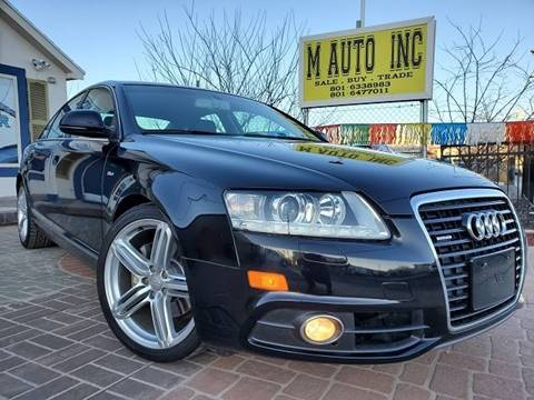 2011 Audi A6 for sale at M AUTO, INC in Millcreek UT