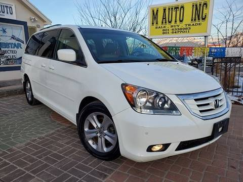 2010 Honda Odyssey for sale at M AUTO, INC in Millcreek UT