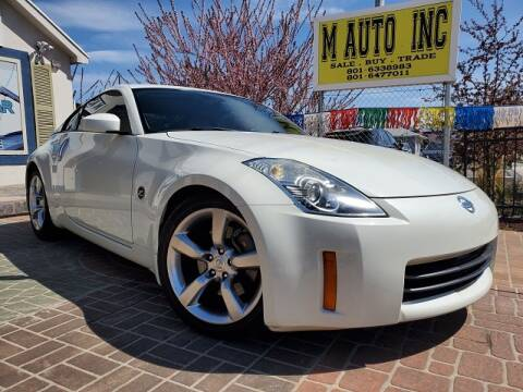 2006 Nissan 350Z for sale at M AUTO, INC in Millcreek UT