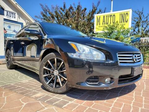 2012 Nissan Maxima for sale at M AUTO, INC in Millcreek UT