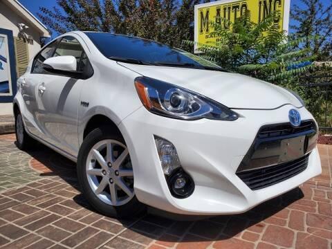 2016 Toyota Prius c for sale at M AUTO, INC in Millcreek UT