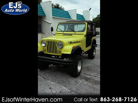 1979 Jeep CJ-7 for sale in Panama City, FL